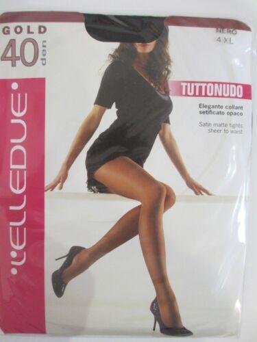 L/'ELLEDUE 40 DEN skin colour tights in natural//sughero also in black M L XL XXL