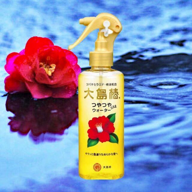 OSHIMA Tsubaki☀Japan-Hair Water with Natural Camellia Seed Oil 180mL