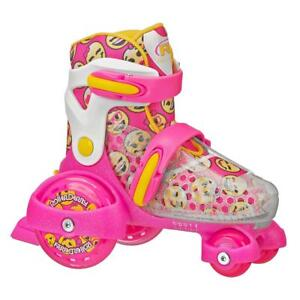 Roller-Derby-Fun-Roll-Girl-039-s-Jr-Adjustable-Roller-Skate-Pink-Yellow