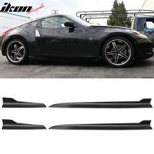 Fits Nissan 370Z 350Z Fairlady Maxima Side Skirts Rocker Panels 4PCS (PU)