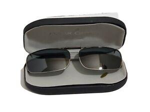 Polar-Optics-Clip-On-Sun-Glasses-Shades-Narrow-Lens