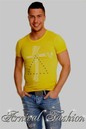 MENS SHORT SLEEVE T SHIRT MEN CASUAL TOPS slim fit 100 cotton tee ADULTS SIZE XL