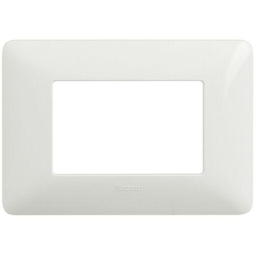 colore bianco AM4803BBN Originale BTicino Matix Placca 3 moduli
