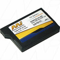 3.7v 1.2ah Replacement Battery Compatible With Sony Psp-s110