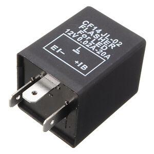 CF14-FLASHER-RELE-RELAIS-RELAY-LED-LAMPEGGIATORE-FRECCE-MOTO-AUTO-SCOOTER-12V