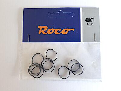 Haftreifen für ROCO-HO-DIESEL-Lok.,6St,nicht original