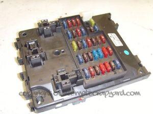 nissan patrol 3 0 y61 zd30 97 13 fuse box relay box ebay rh ebay co uk nissan patrol y60 fuse box nissan patrol fuse box diagram