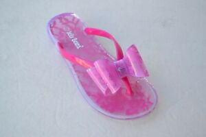 JB-lychi-Girl-Flip-Flop-Sandals-Flats-Summer-Beach-Pool-Fuchsia-Size-9-4