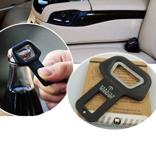 New Passenger Side Seat Belt Buckle Safety Warning Alarm Cancel Stopper & Opener