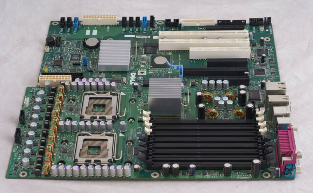 Dell Precision 490 Workstation Computer Motherboard Dual CPU Sockets GU083