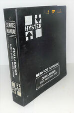 Hyster Challenger H30h H40h H50h H60h Service Manual 599842 D1473