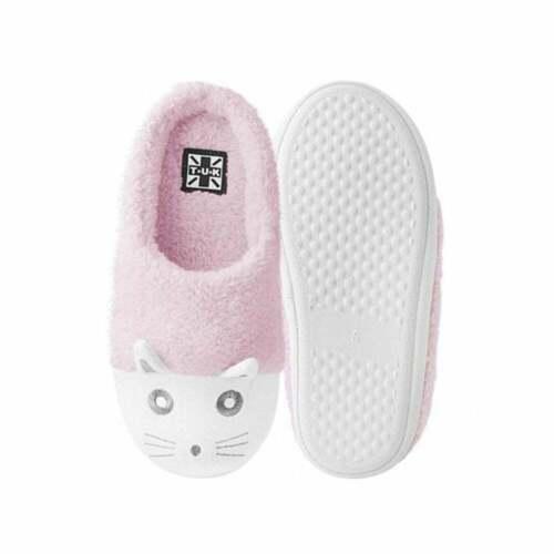 TUK Kitty Womens Vegan Slippers Pink