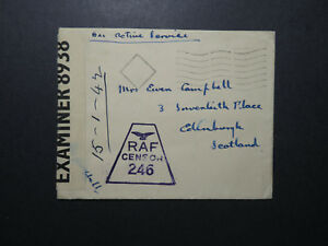 Great-Britain-WWII-Forces-in-Egypt-Cover-Echelon-RAF-Cesnor-Z12293