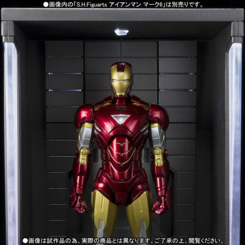 "Premium Bandai S.H.Figuarts /"" IRON MAN Hall of armor /"" MARVEL Figure Display"