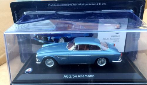 A6G//54 Allemano MASERATI 100 YEARS COLLECTION  1//43  Leo Models 052