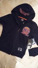 NWT $54 ladies New York Knicks hoodie jacket zipper NBA for her beaded sz. small