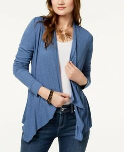 e2b12f2dc83 $215 INC INTERNATIONAL CONCEPTS WOMEN'S BLUE OPEN FRONT CARDIGAN ...