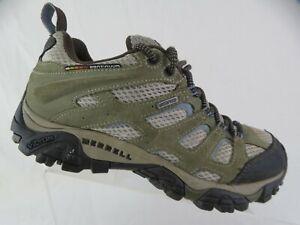 MERRELL-Moab-Low-Brown-Sz-8-Women-Waterproof-Hiking-Shoes