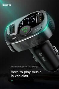 Bluetooth-Car-FM-Transmitter-Aux-Modulator-Handsfree-Audio-MP3-Play