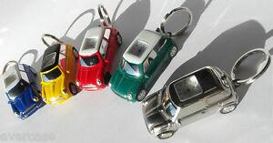 Herzhaft Rover Mini Auto Uhr Schlüsselring Halter. Geschenk Für Sie & Ihn Neuheit Reisen