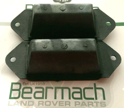 Bearmach Brand ANR4189 Axle Buffer Rear Bump Stop Set Land Rover Defender 90