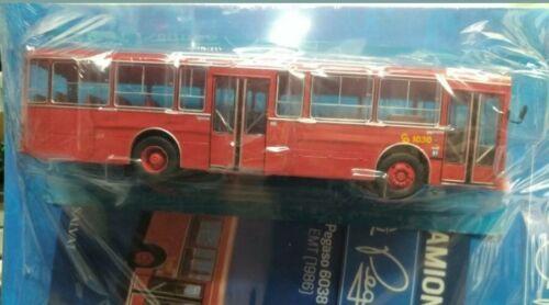 de la EMT de  Madrid   Autocar//Autobús  Salvat ixo 1//43 Pegaso 6038 1986