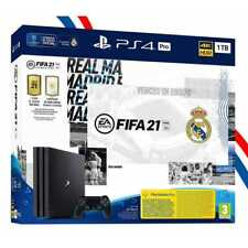 CONSOLE PS4 PRO 1TO REAL MADRID EDITION + 1 MANETTE DUALSHOCK 4 + JEU FIFA 21