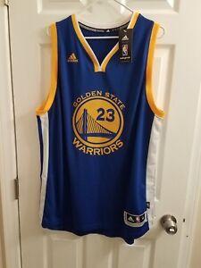 detailed look b3c74 42494 Details about XL New Golden State Warriors Draymond Green 23 Swingman Blue  away Jersey adidas