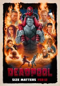 DEADPOOL-Movie-PHOTO-Print-POSTER-Film-Ryan-Reynolds-Size-Matters-Glossy-IMAX-04