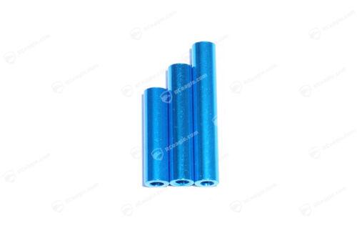 8x M3 Abstandshalter Alu Eloxiert Distanzbolzen Aluminium Standoff Anodized