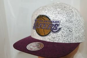 Los-Angeles-Lakers-Mitchell-amp-Ness-NBA-Norest-Snapback-Hat-Cap-35-00-NEW