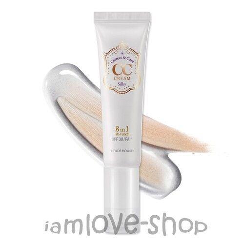 [Etude House] CC Cream (Correct&Care) SPF30/PA++ #1 Silky Type  Natural Coverage