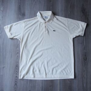 Vintage Short Chemise Xl Lacoste Shirt Pique Polo 6 Lemon Mens Sport 6mfYIgb7yv
