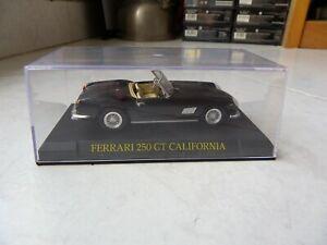 Ferrari-250-Gt-California-ixo-altaya-1-43-Miniature-with-Box-Showcase