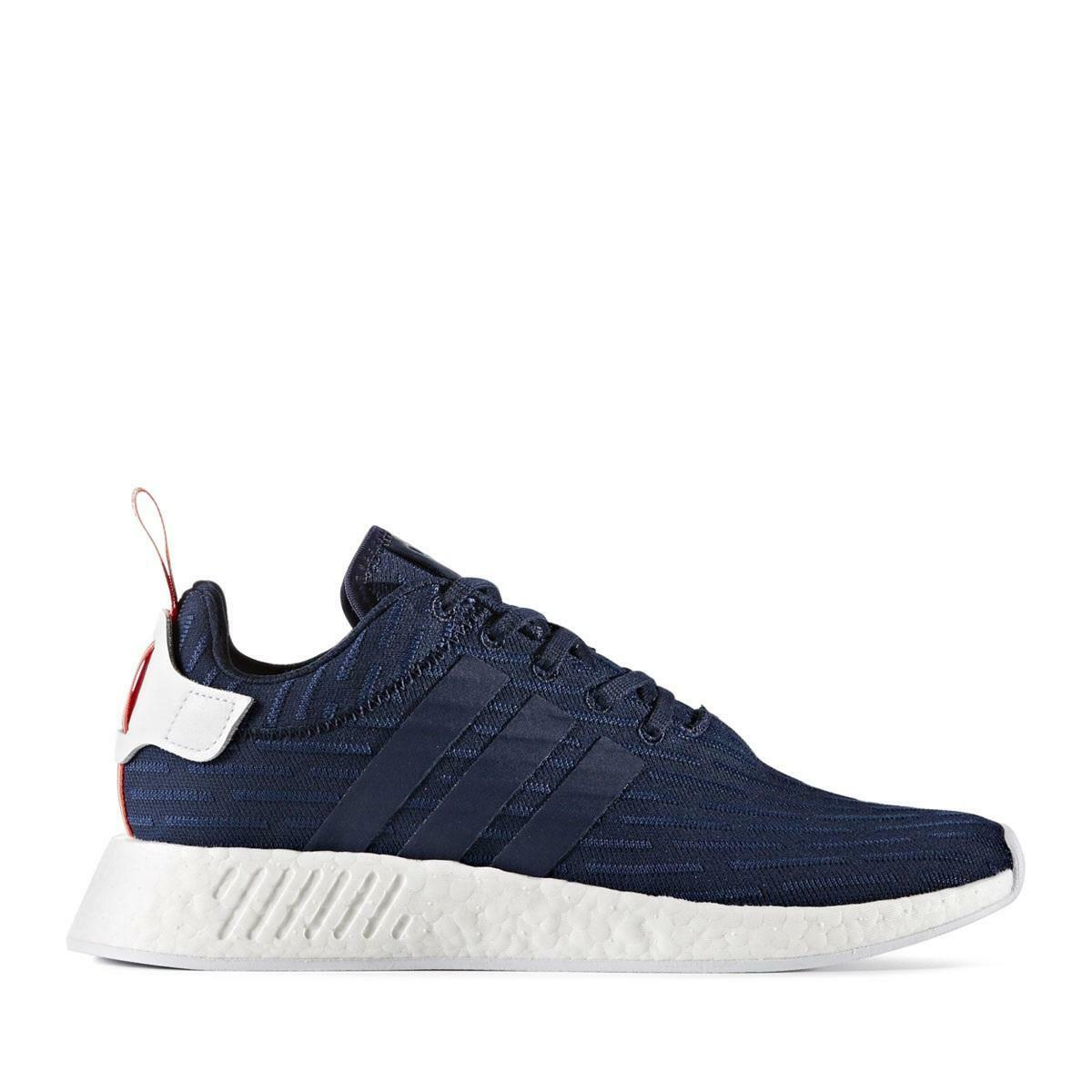 Mens ADIDAS NMD R2 PK Navy bluee Running Trainers BB2952