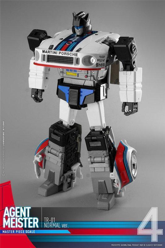 (FAST) Transformers Transform & Rollout TnR TR-01 Agent Mister MP Jazz Figure