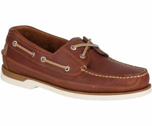 Details about Sperry STS17242W: Men's Mako 2 Eye Tan Boat Wide Boat Shoes