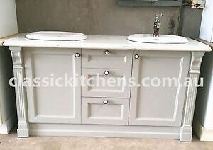 Image Is Loading Hamptons Style Vanity Provincial Bathroom