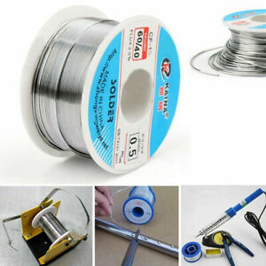 0ea63f5f547 100g Flux 0.5mm Soldering Wire Rosin Core 60 40 Tin Lead Thin Solder ...