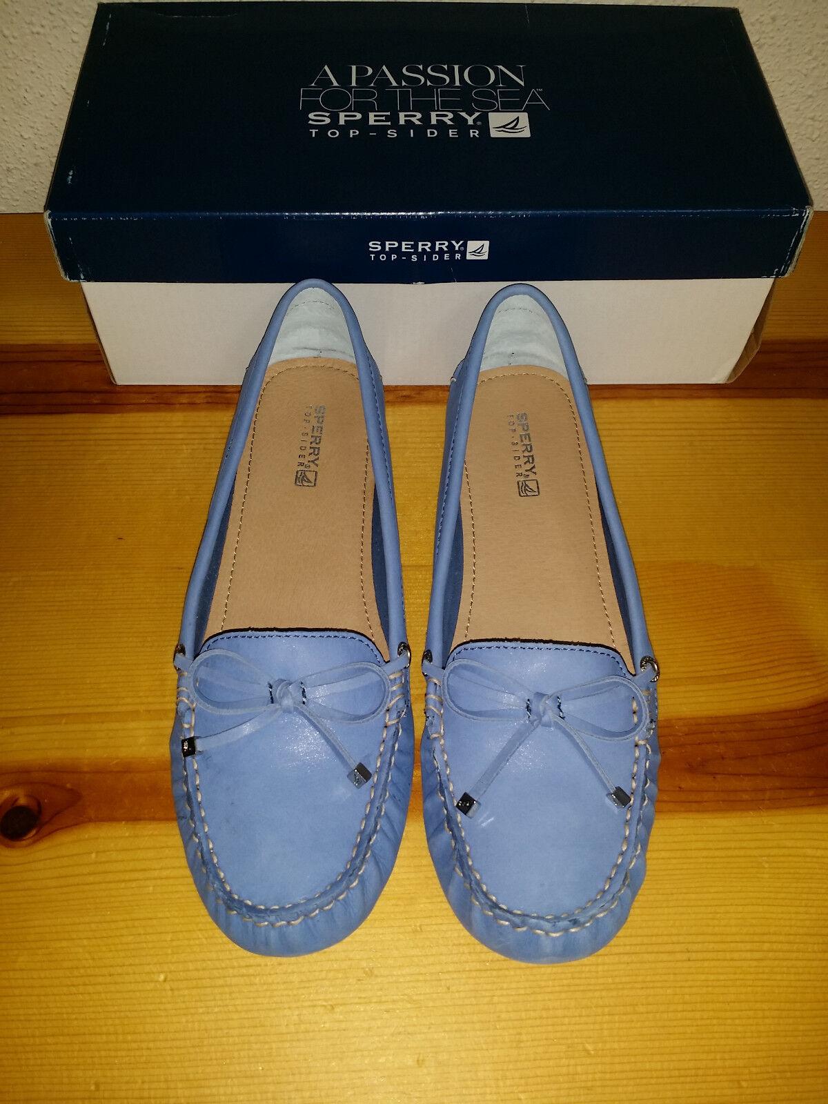 90 para mujer 9.5 Sperry Top-Sider Katharine Katharine Katharine Brillos Zapatos Náuticos Azul  precios bajos