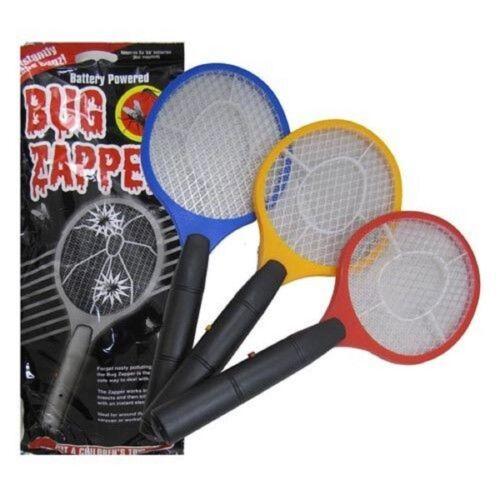 Bug Zapper Racket Electronic Mosquito Fly Swatter insectes électrique chauve-souris de poche