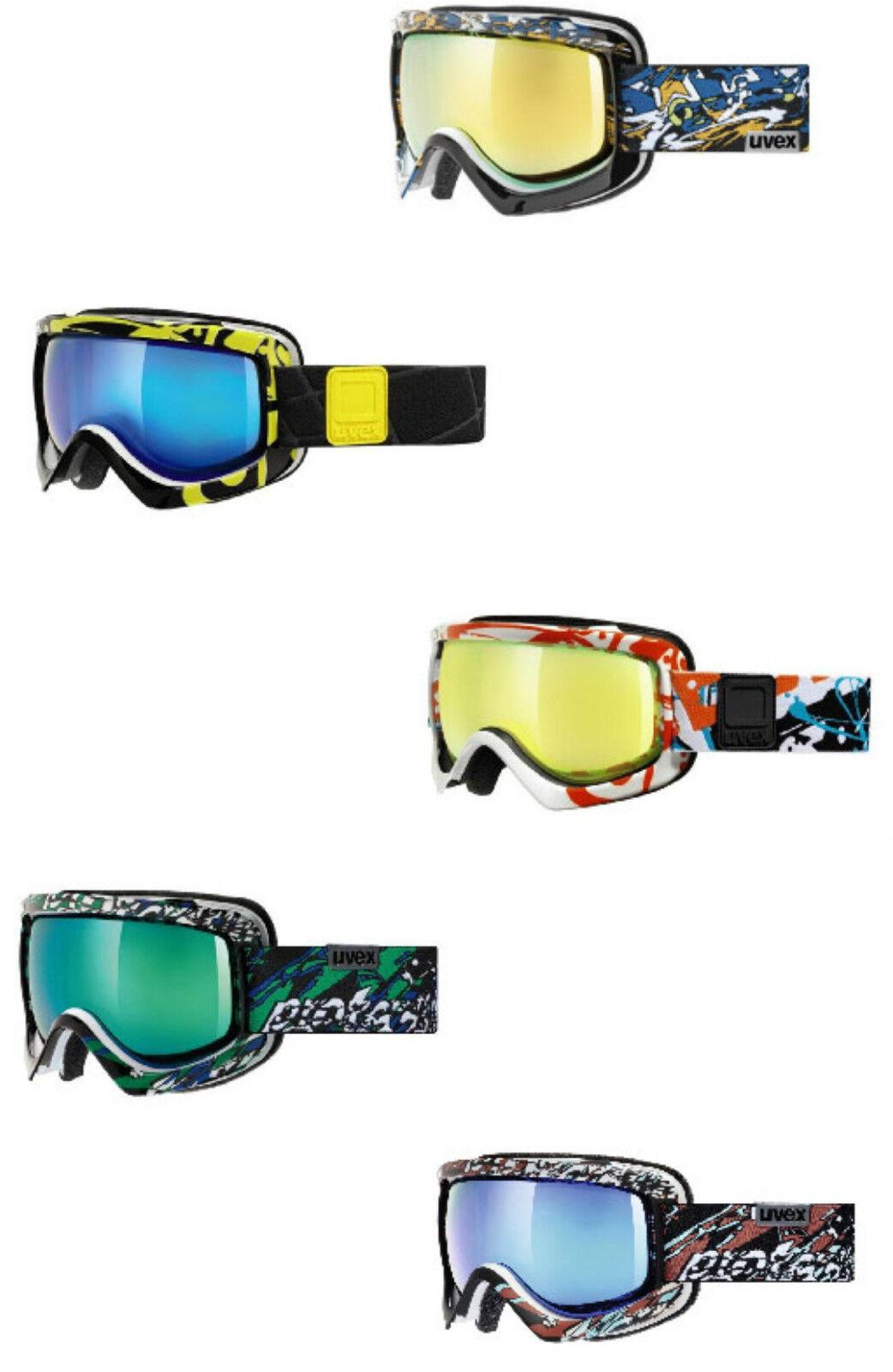 Uvex G.Gl 5 Sioux Cf - Lens Spheric Lite Mirror Ski Goggles Snowboard Glasses