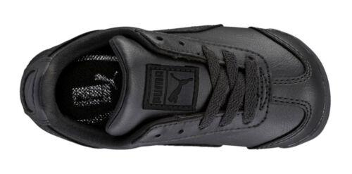 PUMA Roma Basic Black Black Toddler Kids Sneakers Tennis Shoes 354260 12