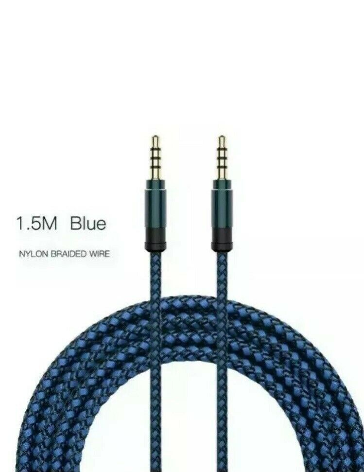 1.5m Replacement Chat Cable for Sony Playstation 4 PS4 Wireless Gaming Headset
