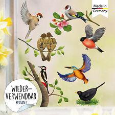 BEHANG Vögel 10tlg NEU Erzgebirge Ostern Frühling Strauchbehang Ostereier Bäume