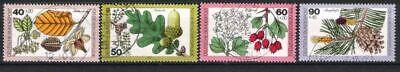 Waldfrüchte 1979 Gestempelt HüBsch Und Bunt Bund Nr.1024/27 Wohlfahrt