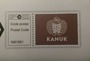 stamps-Canada-publicitaire-kanuk-ad-Mail-cover-code-postal