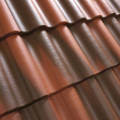 Dachziegel Dachsteine Beton *doppel S* Ziegelrot/braun 30 Jahre Garantie 1.sorte Attraktive Mode Sonstige