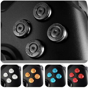 Details about Metal Aluminum Bullet Buttons Kits Replacement Parts for Xbox  One Controller