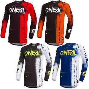 O-039-Neal-Element-Shred-Kinder-Motocross-Jersey-MTB-Mountain-Bike-Downhill-Kids-BMX